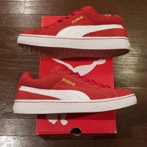 Puma S - Team Regal Red / White - Size 9